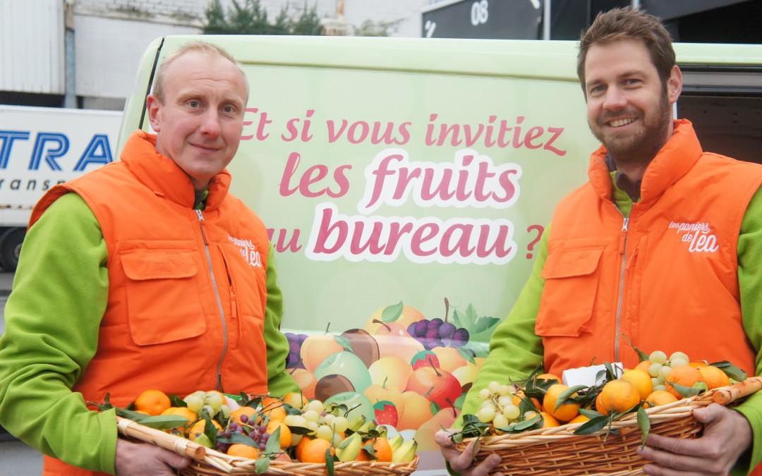 LesEchos.fr / Bien-être et santé au travail : la recette des Paniers de Léa