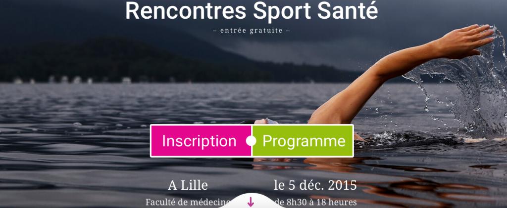 Rencontres Sport Santé 2015 Lille