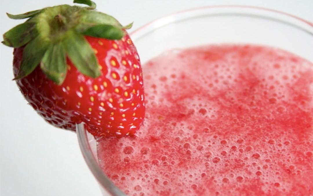 Smoothie fraise-banane