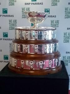 Les Paniers de Léa vitamine la Finale de la Coupe Davis