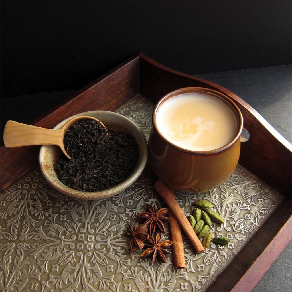 Thé chai aux épices