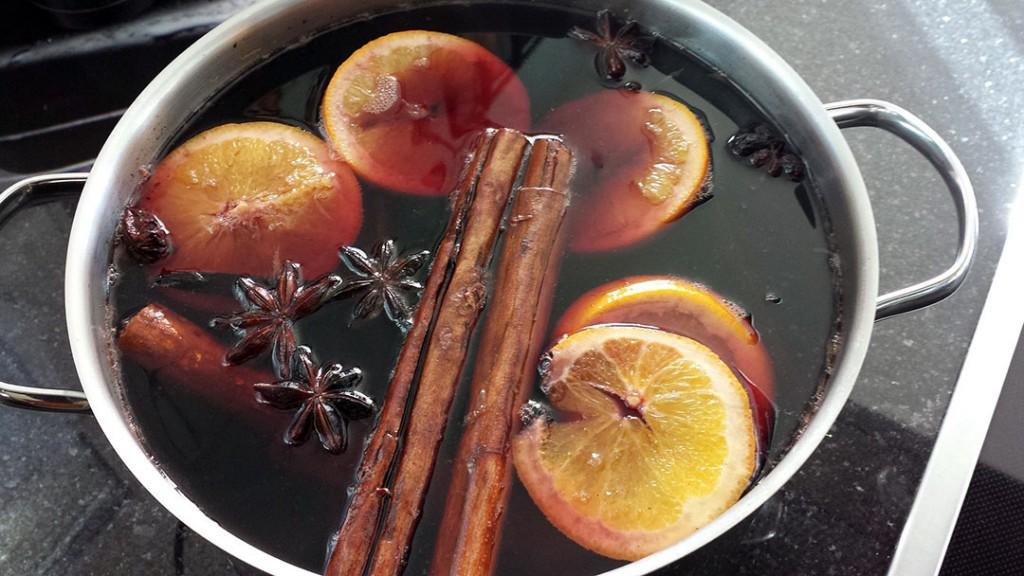 Boisson façon vin chaud (sans alcool)