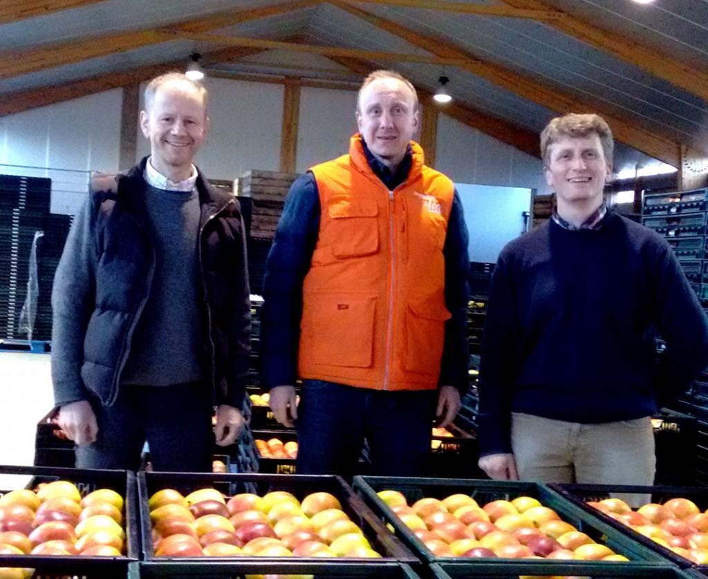 Guillaume et Mathieu, producteurs de pommes et poires