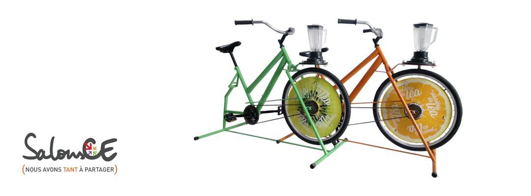 Le Vélo à smoothies : découvrez le au Salon CE