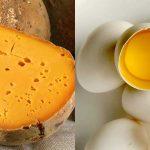 Fromage + œuf = calcium + vitamine D