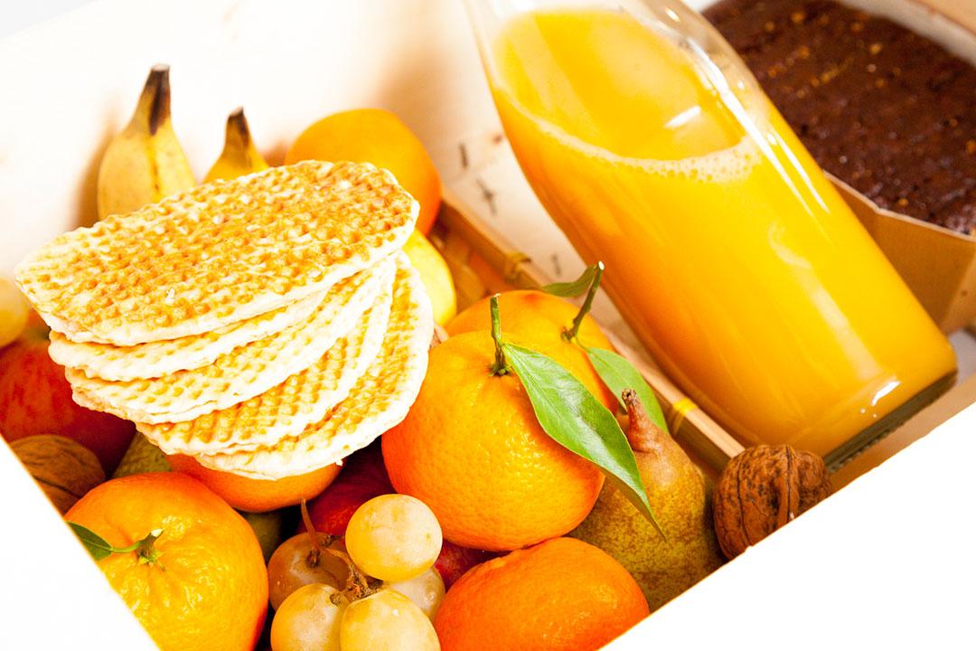 Box jus d'orange