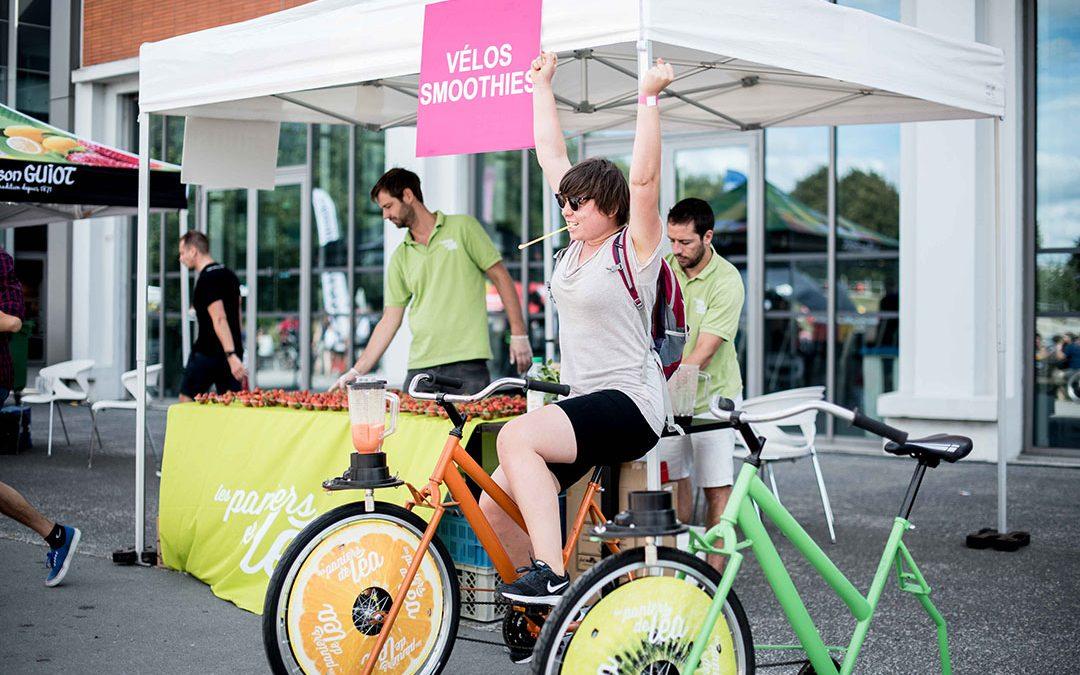 B'Twin Ch'ti Bike Tour… en vélo à smoothies !