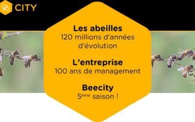 Événement BeeCity : Abeilles et management, inspirons-nous du vivant !