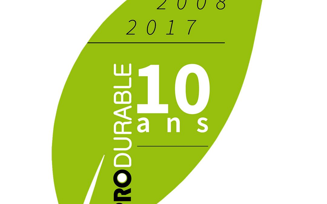 Rendez-vous au Salon Produrable à Paris !