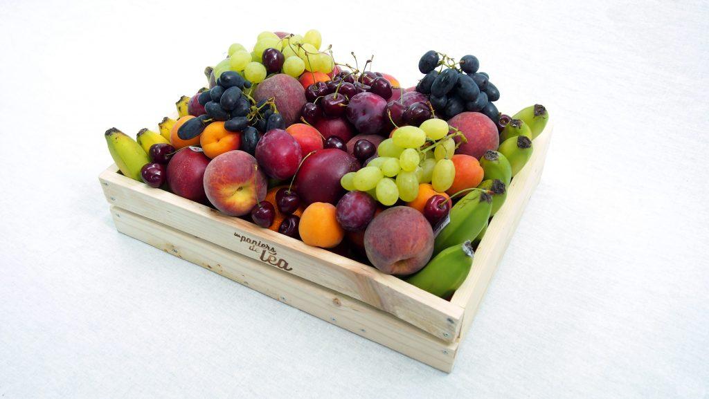 livraison de corbeilles de fruits au travail les paniers. Black Bedroom Furniture Sets. Home Design Ideas