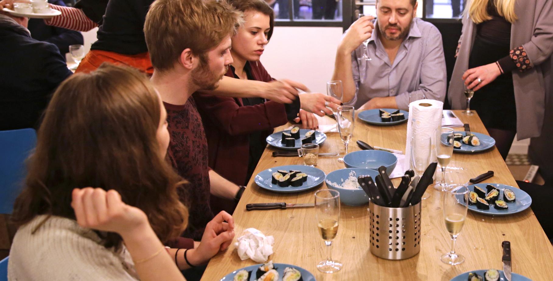 Cours De Cuisine Henin Beaumont cours de cuisine en entreprise - les paniers de léa