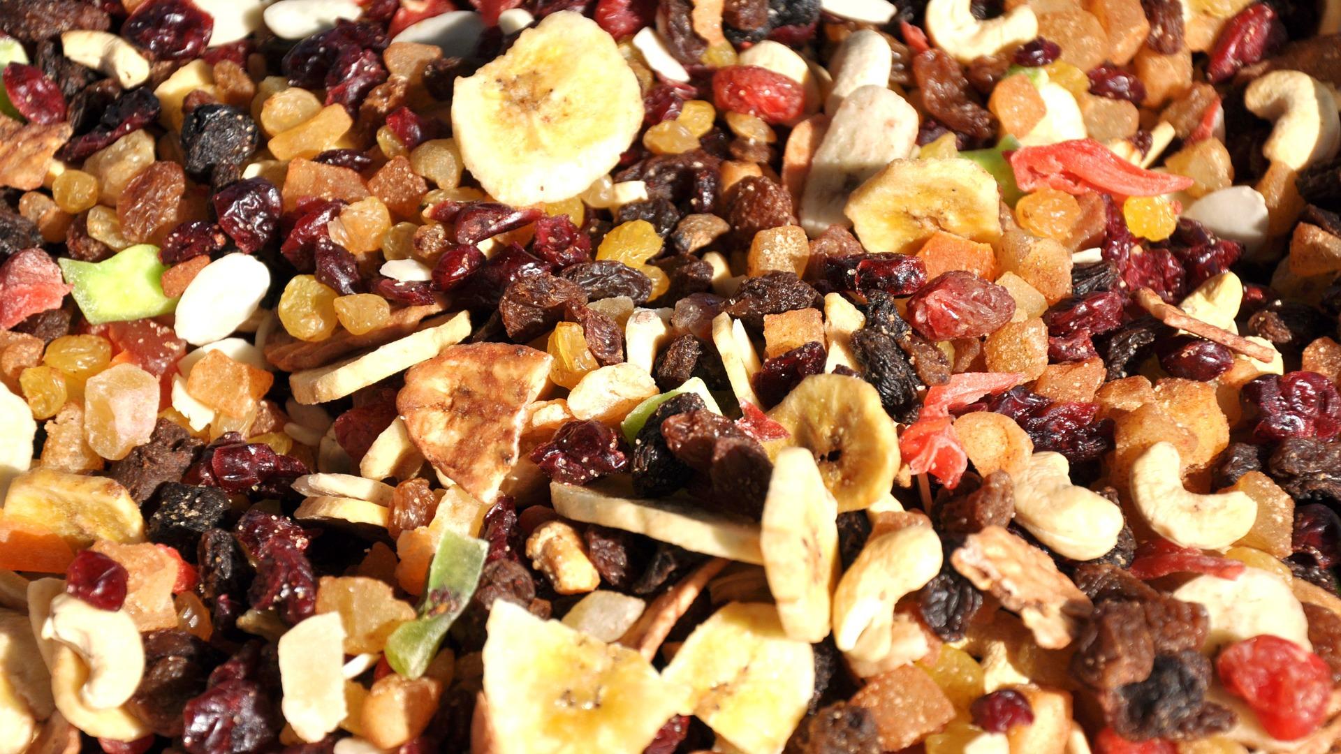 Bar à fruits secs