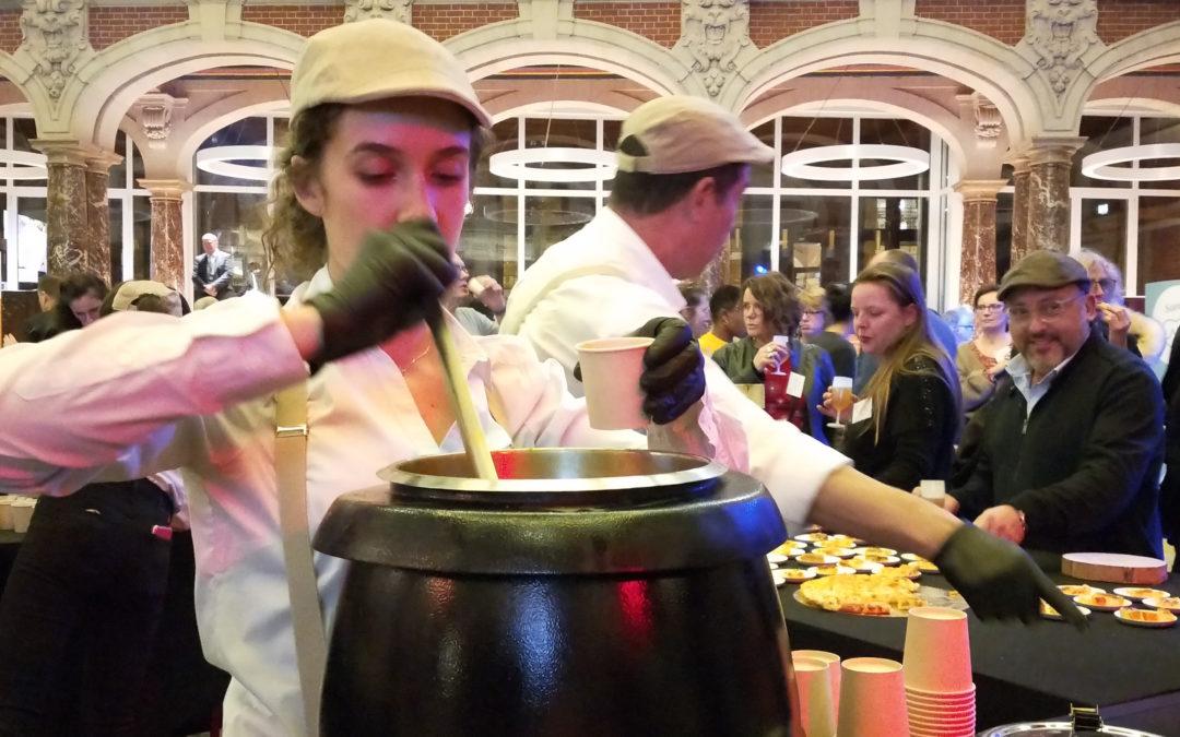 Bar à soupes chaudes
