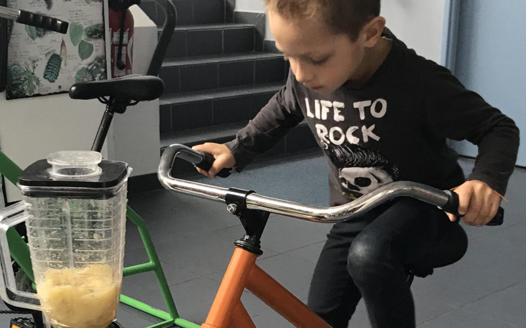 Vélos à smoothies pour les enfants