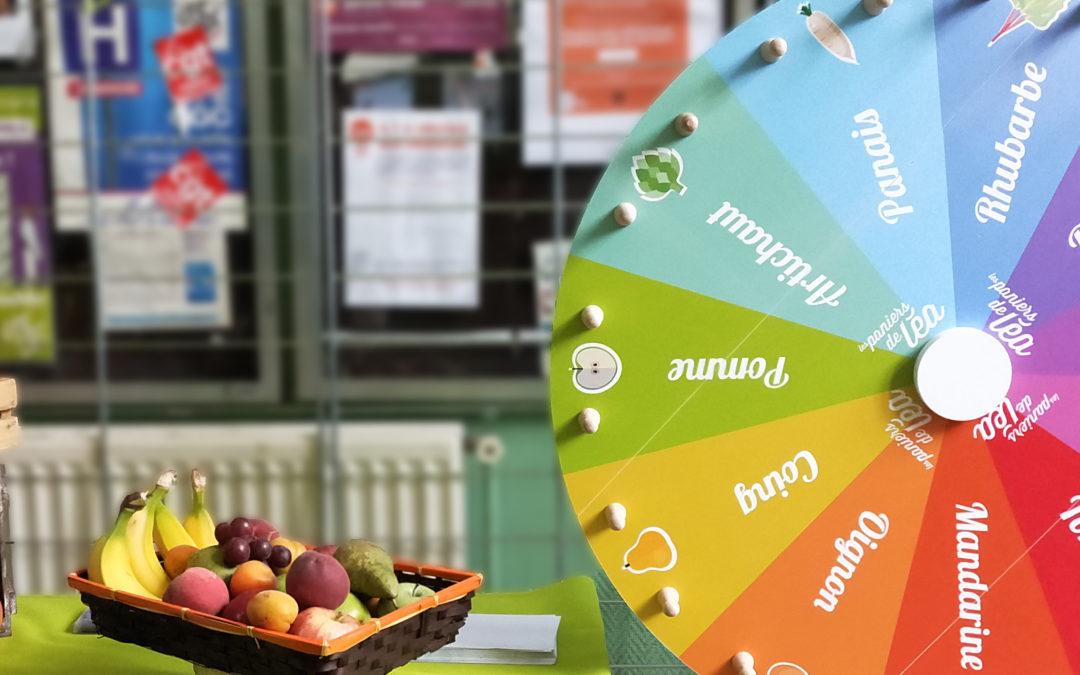 L'atelier de sensibilisation à la saisonnalité des fruits