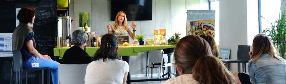 L'atelier de sensibilisation à l'alimentation healthy