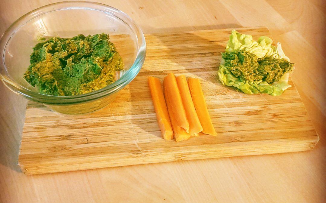 La recette anti-gaspi :  La tapenade de vert de poireau