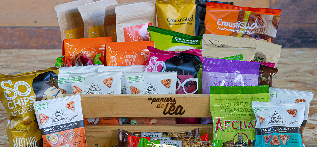 Box de snackings individuels