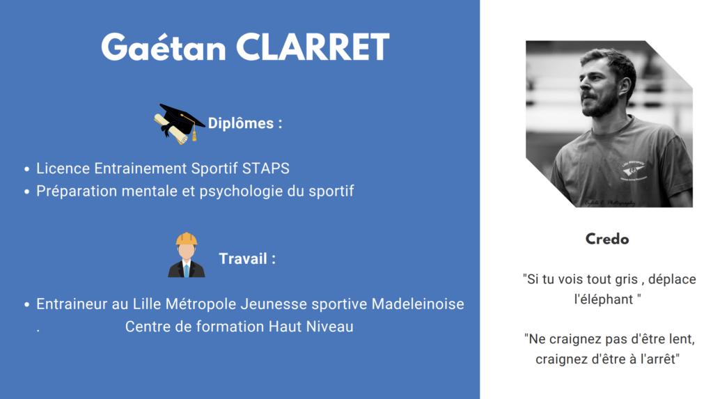 Gaëtan Clarret - La pensée positive