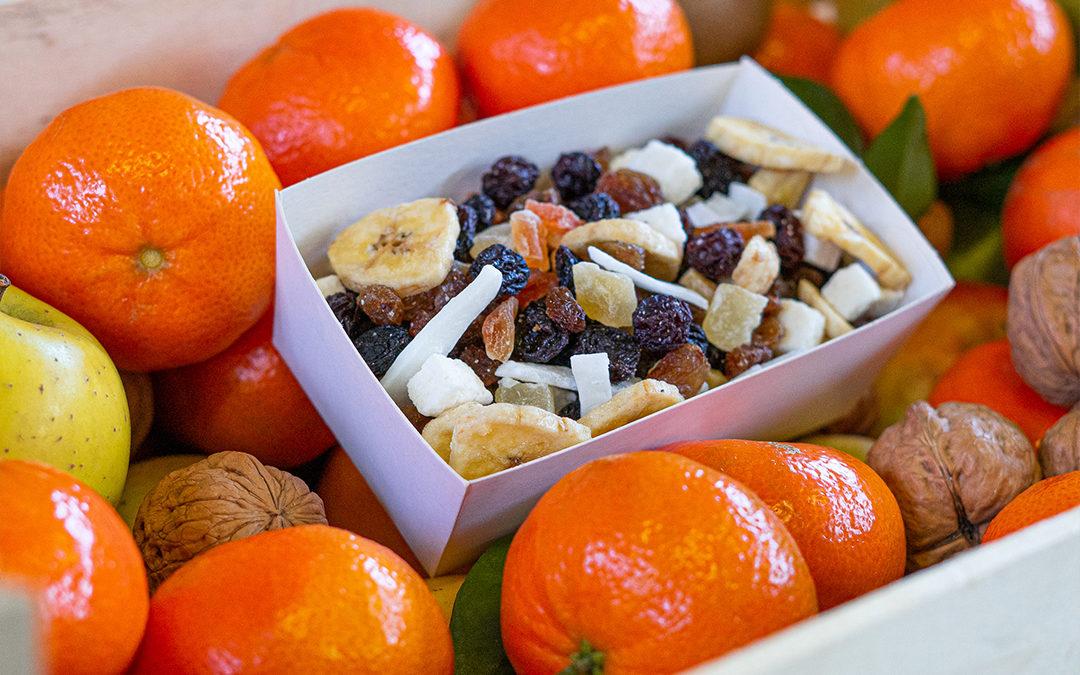 Corbeille de fruits «engagée»