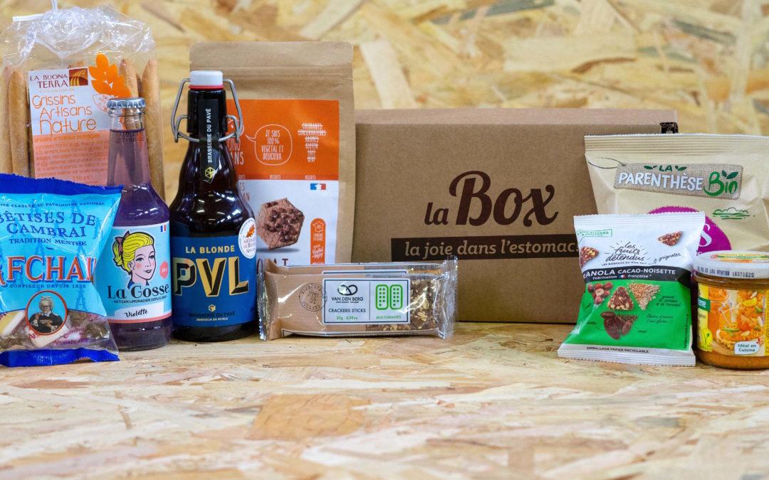 Box «La Joie dans l'Estomac !»